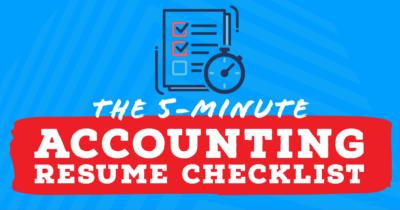 Accounting resume writing help